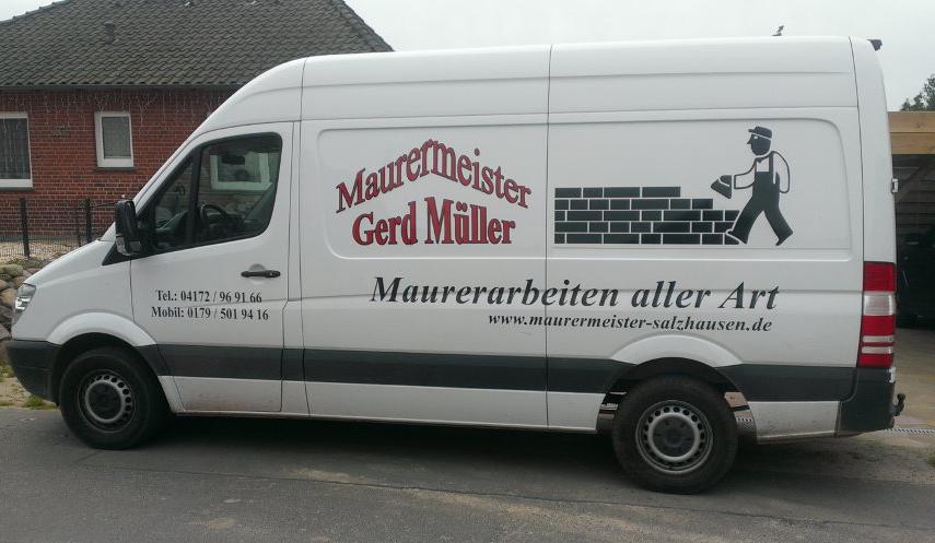 Maurermeister Gerd Müller